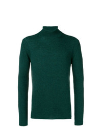Roberto Collina Turtleneck Fitted Sweater