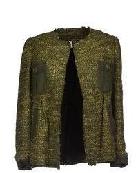Dark Green Tweed Jacket