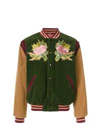 Dark Green Varsity Jacket