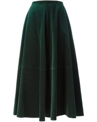 MM6 MAISON MARGIELA Velvet Maxi Skirt