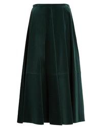 e2bdb8370 Dark Green Velvet Skirts for Women | Women's Fashion | Lookastic UK