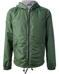 Dark Green Windbreaker