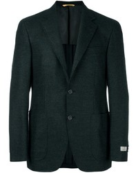 Dark Green Wool Blazer