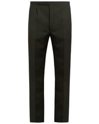 Raf Simons Slim Fit Wool Trousers
