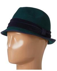 Dark Green Wool Hat