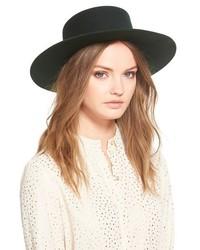 Janessa Leone Mica Wool Felt Hat