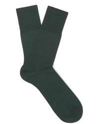 Falke Airport Virgin Wool Blend Socks