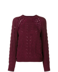 See by Chloe See By Chlo Lace Crochet Sweater