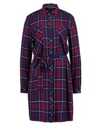 Tommy Hilfiger Check Dress Red