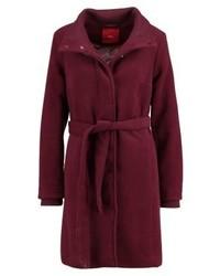 s.Oliver Classic Coat Winter Plum Melange