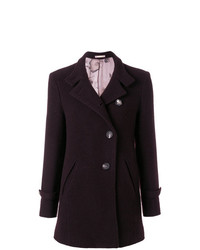 Massimo Alba Fitted Button Up Coat