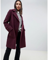 ASOS DESIGN Twill Smart Coat