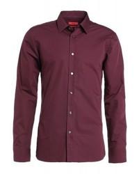 Hugo Boss Elisha Slim Fit Formal Shirt Purple