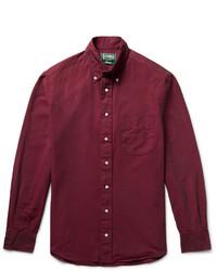 Gitman Brothers Gitman Vintage Slim Fit Button Down Collar Cotton Oxford Shirt