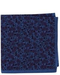 Ted Baker London Floral Flannel Pocket Square