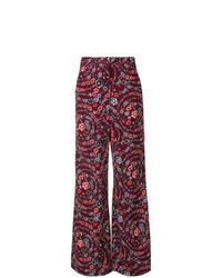 See by Chloe See By Chlo Floral Palazzo Trousers