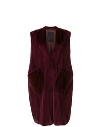Liska Sleeveless Fur Coat