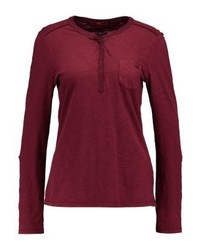 s.Oliver Langarm Long Sleeved Top Beaujolais