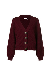 See by Chloe See By Chlo Textured Chunky Knit Cardigan