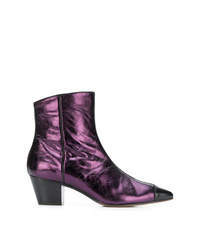 L'Autre Chose Pointed Toe Ankle Boots