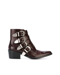 Toga Pulla Strap Boots