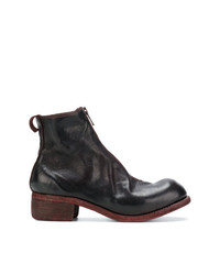 Guidi Chunky Heel Ankle Boots