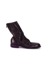 Guidi Rear Zipped Boots