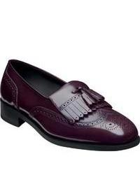 Dark Purple Loafers