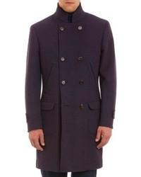 Dark Purple Overcoat