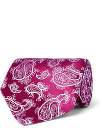 85cm paisley silk jacquard tie medium 1245756