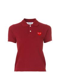 Comme Des Garcons Play Comme Des Garons Play Logo Polo Shirt