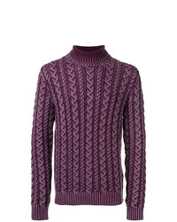 Tod's Patterned Loose Sweater