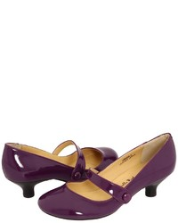 Dark Purple Pumps