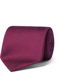 75cm textured silk tie medium 1245885
