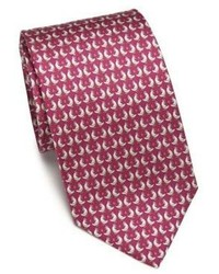Salvatore Ferragamo Rooster Silk Tie
