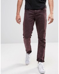 NATIVE YOUTH Skinny Fit Wash Jeans