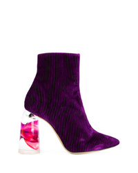 Ellery Contrast Heel Boots