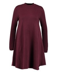 Pieces Pcjasmin Turtleneck Jumper Dress Port Royale