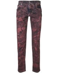Dolce & Gabbana Tie Dye Slim Fit Jeans