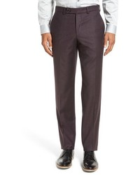 London frobisher flat front solid wool trousers medium 844202