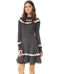 Fair isle sweater dress original 10229729