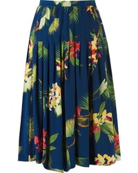 Floral midi skirt original 1475245