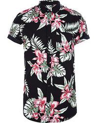 Floral short sleeve shirt original 369328