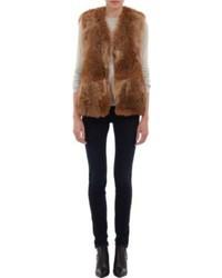 Fur vest original 10043694