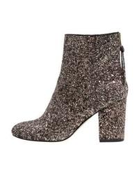 River Island Boots Gold Glitter