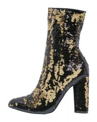 Missguided Boots Gold