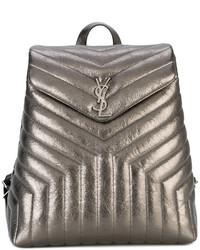 Saint Laurent Loulou Monogram Backpack