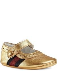 Gucci Infant Girls Lila Mary Jane Crib Shoe