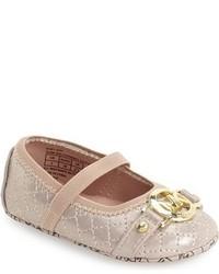 MICHAEL Michael Kors Infant Girls Michl Michl Kors Gen Mary Jane Crib Shoe