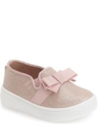 MICHAEL Michael Kors Toddler Girls Michl Michl Kors Ivy Bowi Slip On Sneaker